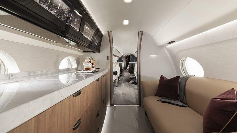 Gulfstream G700 inside