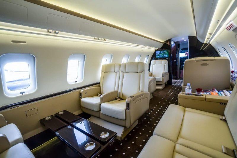 challenger-605-interior